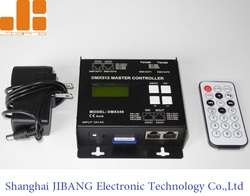 Shanghai JIBANG AC Input Multi-Functional SD Card Remote DMX Controller for RGB LED Lights DMX340