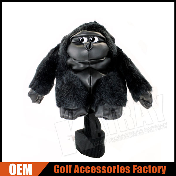 Custom Gorilla Animal Driver Golf Clubs Head Covers