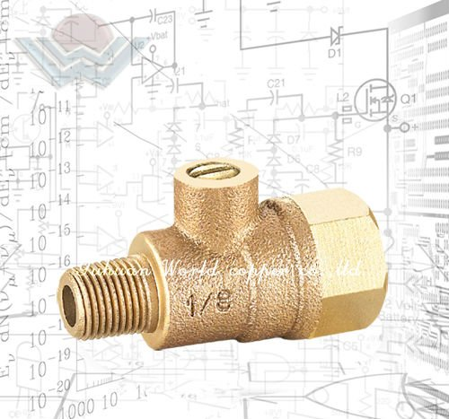 WD-1106 Bronze Backflow Preventer Test Cock valve and Accessories