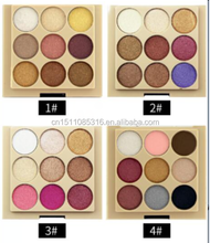 9color naked eye shadow palette glitter make up eyeshadow palette