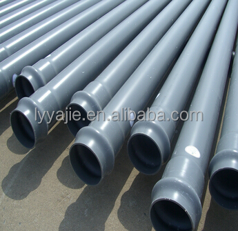 factory supply high quality pvc sewer pipe specifications
