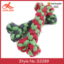S3289 new style custom crochet knitted patterns dog bones dog puppy plush stuffed pet toys for dogs 2016