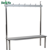 jialifu elegant outdoor weight park bench