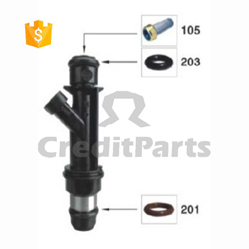 fuel injector repair kits 17125097 25334150 delphy kits CF-007