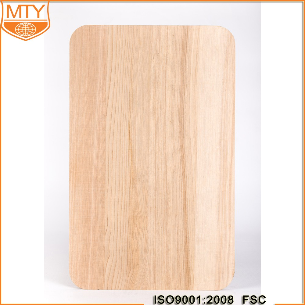 TY-W0217 FSC Certificate Good Quality Rectangle Salami Cutting Board