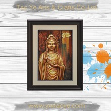 Thai buddha painting for home decor modern buddha painting