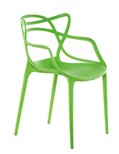 Outdoor Pro Garden Stacking PP Plastic Dining Furniture Chairs Polypropylene Chair