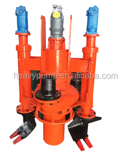 4 inch sand submersible slurry pump for gold mine made in chrome alloy
