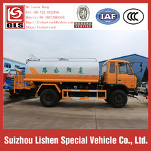 Road Water Sprinkler Truck High Pressure Water Pump Dongfeng 10000 Liter Water Tank Truck