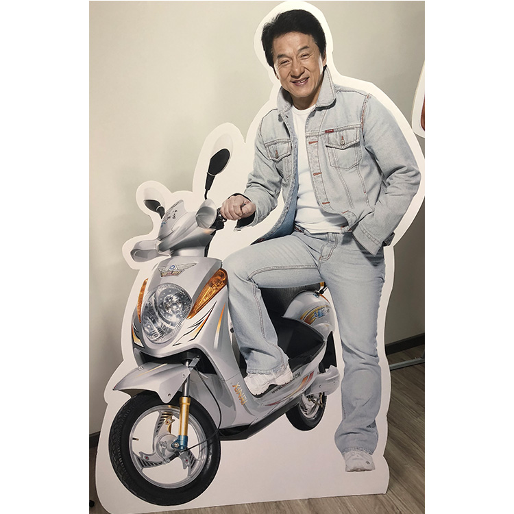 Promotion customized life size cardboard cutouts