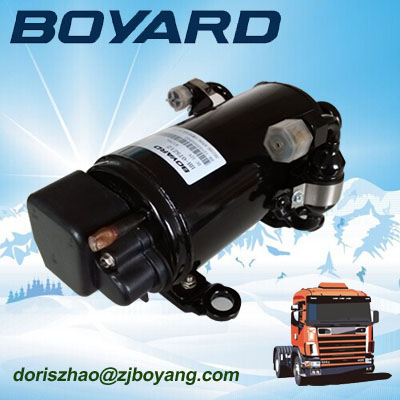 r134a zhejiang boyard dc inveter compressor air conditionner 12v HB075Z12 1000W for truck sleeper of <strong>12</strong>/ 24vdc air conditioner