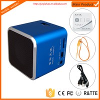 Wholesale fm radio usb sd card reader speaker for mp3 mp4 player