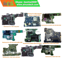 Original Notebook Motherboards for Lenovo Laptop Mainboard Replace