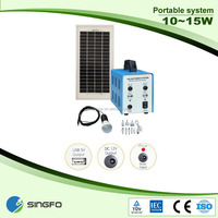 10W Solar Energy System For Home