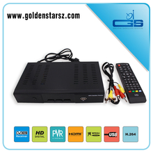 High quality FTA+IKS multi stream digital satellite receiver dvb-s2 receiver support IPTV