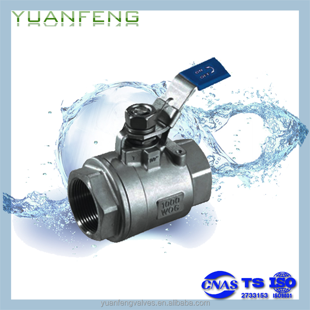 2-PC BALL VALVE(with lock)