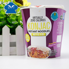 Hot sales OEM konjac cup noodles with customized seasonings
