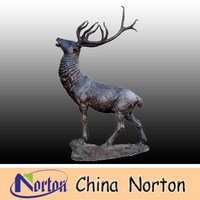 large bronze deer statues for sale NTBA-DE009