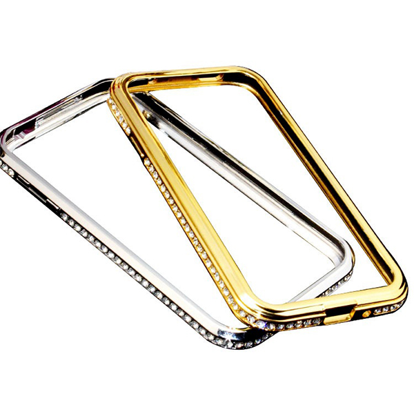For Samsung Galaxy S3 Bling Diamond Metal Aluminum Bumper Case