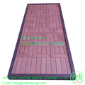 Good price WPC sheet for outdoor composite plastic exterior floor