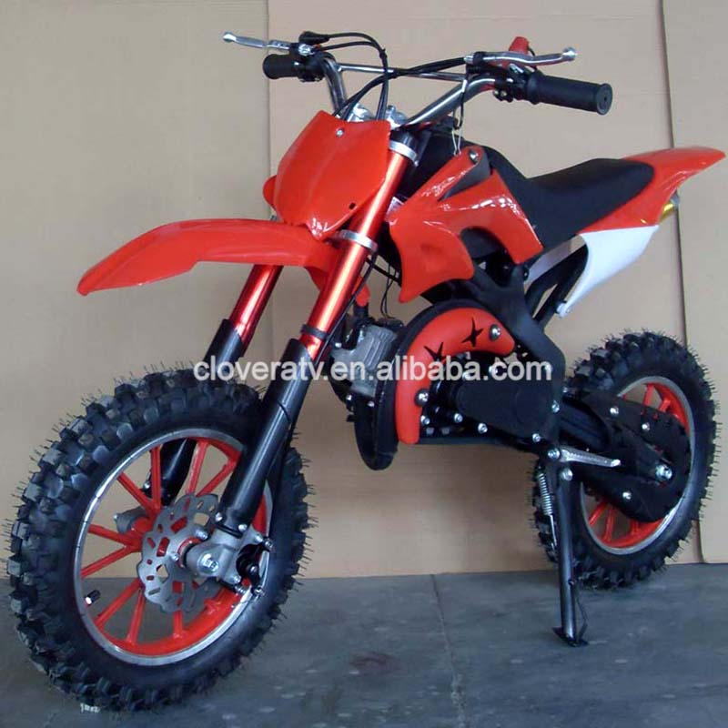 Professional Used Chain Drive 49CC Dirt Bike Motorbikes with Electric Start