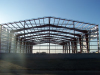 China Prefabricated Two Story Construction Design Steel Structure Warehouse