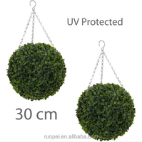 Wedding Home Outdoor Ornamental Artificial Plant Topiary Boxwood Ball