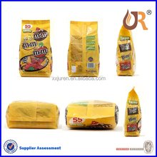 food grade metallized stand Up pouches for candy,snack