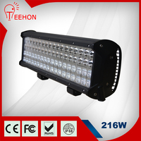 "factory direct sell quad row 17"" led light bar for off road 4x4,SUV,ATV,4WD,truck"