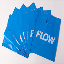 with 23 years experience cheap HDPE/LDPE die cut plastic bag packaging with logo
