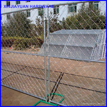 temporary chain link portable fence panels mobile guard fence America market