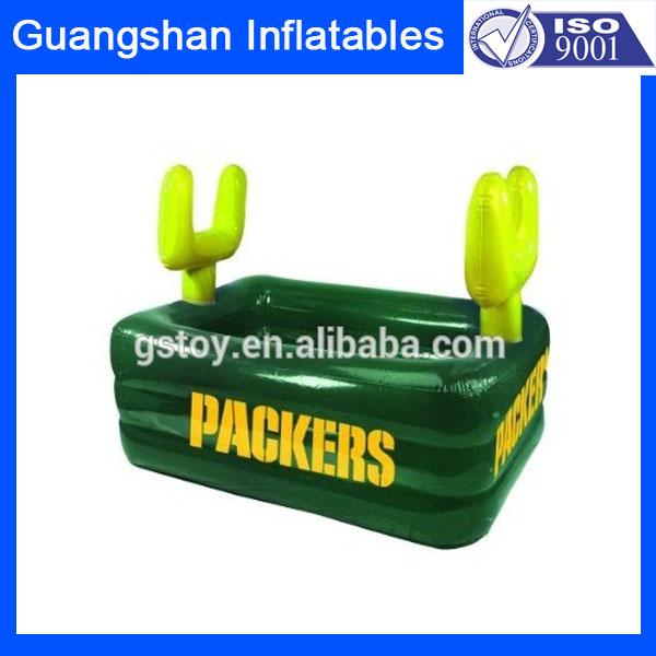 floating plastic bucket drink holder inflatable ice bucket coolers