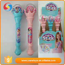 wholesale girl flashing stick toys with light and Music