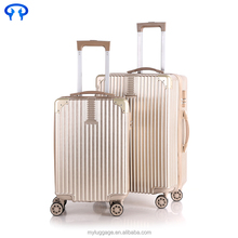 2016 New Style travel luggage suitcase colorful hard shell luggage