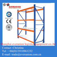 Q235b warehouse beam racking/ pallet rack with wooden board