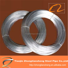 Good tensile strength electric galvanized steel wire for netting