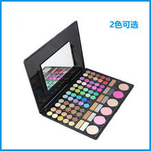 LF107 78 color eye shadow earth color / pearl / matte combination of eye shadow