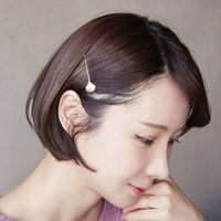 2pcs/lot Lovely Crystal Hairpin Girls Fashion Shell Hair Clip Ornaments Hair Accessories Jewelry Candy Color Bobby Pin for Women