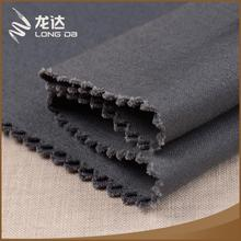 Longda Manufacture popular breathable mixed stock linen cotton fabric