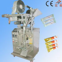 Back Seal Powder detergent Packing Machinery 1-100g Powder full auto sachet packing machine