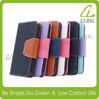 Wholesale Cell phone case book wallet flip leather case cover for Samsung GALAXY Note 4 Note 4 edge