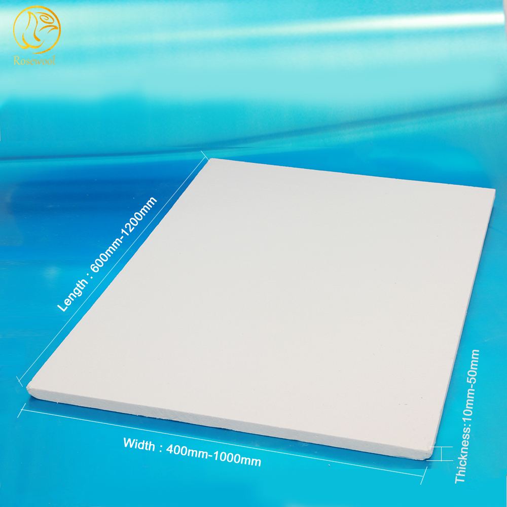 roof heat insulation materials ceramic fiber fireproof board for fireplace