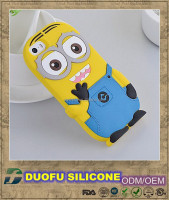 Colorful minions mobile phone cover case