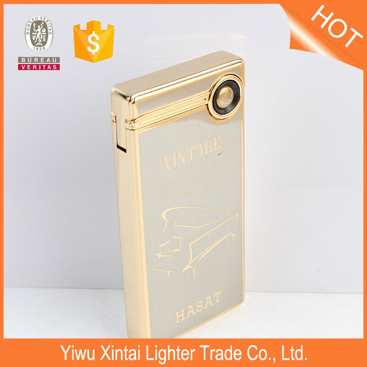 CRZ050 Top fashion OEM design adjustable butane gas lighter customed