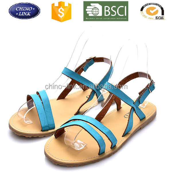 2016 SUMMER SPRING SEXY LADY WOMEN FLAT SANDAL BEACH SANDALS