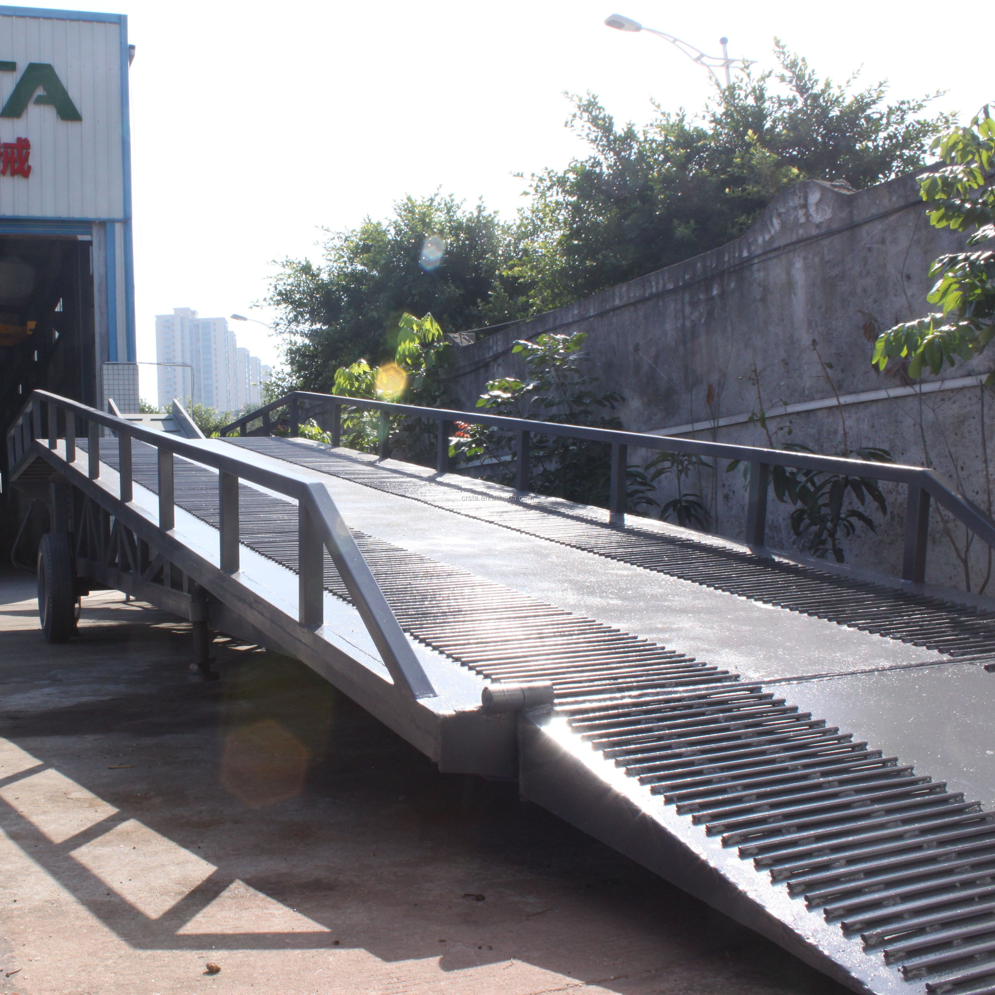 Guangzhou Best Price  Mobile Container Load Ramp Platform
