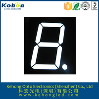 single digital 0.8'' 7 segment alphanumeric dual color led display