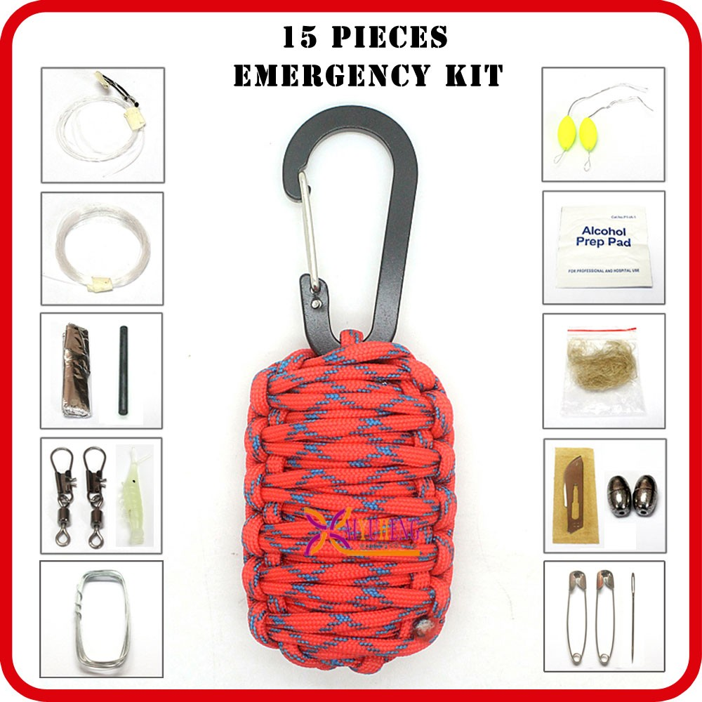 portable emergency survival supplies backpack list