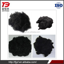 PSF black recycled polyester staple fiber
