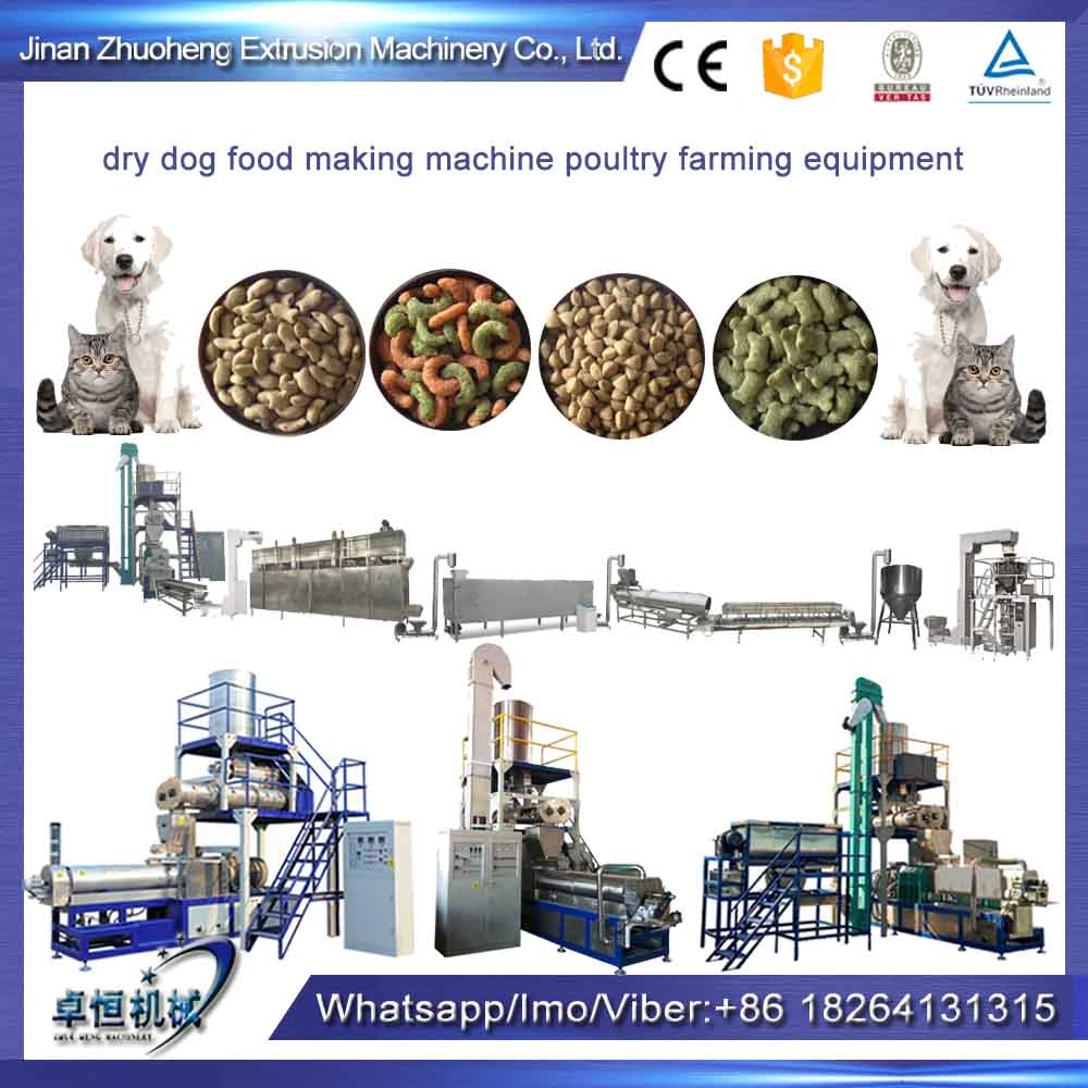 dry dog food making machine poultry farming equipment